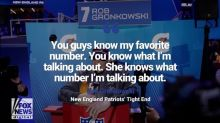 Patriots star Rob Gronkowski's suggestive remark to female reporter draws backlash