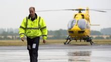 Prince William tells of dramas that will live with him forever as he prepares for final air ambulance shift