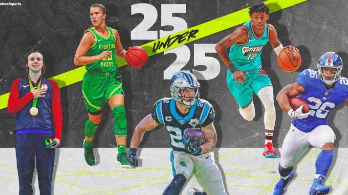 Yahoo Sports' 25 athletes under 25 – Nos. 10-6
