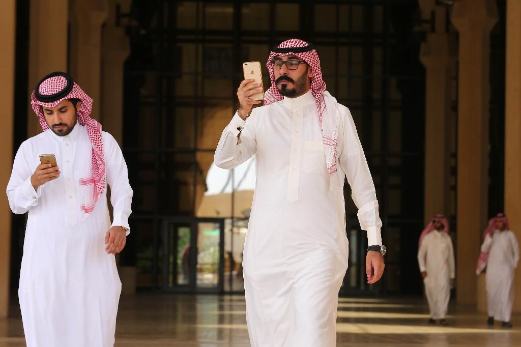 Saudi Arabia's largest telecommunications firm said it will set up a $500-million venture capital fund to invest in start-up companies (AFP Photo/STRINGER)