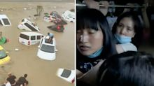 China floods: At least 33 dead, terrifying new video emerges