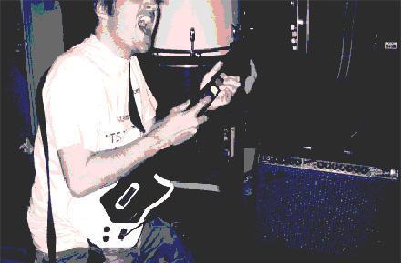 Guitar Zeros rock out with Guitar Hero axes