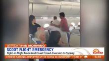 Singapore flight diverted after passenger punches fellow passengers