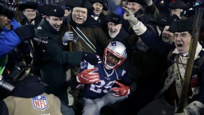 Bills don't match Patriots' offer sheet to Mike Gillislee, so LeGarrette Blount is likely done in New England