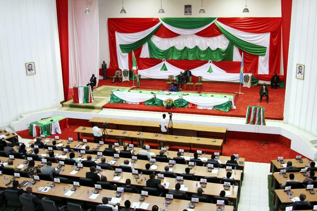 """Burundi's parliament criticises a proposed African Union peacekeeping mission already dismissed by the government as an """"invasion force"""" (AFP Photo/Landry Nshimye)"""