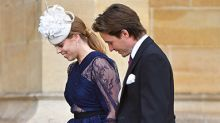 Princess Beatrice's painful injury you may have missed at Lady Gabriella Windsor's royal wedding