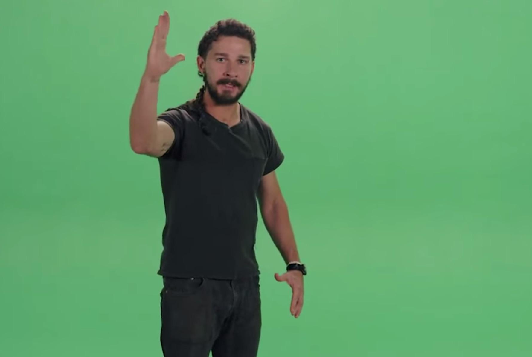 The Real Story Behind Shia LaBeouf's Hilarious 'Motivational' Rant
