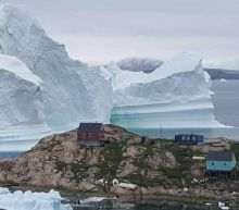 Massive Rogue Iceberg Threatens Greenland Community