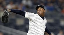 Chapman rejoins Yankees after virus bout; Kahnle to IL