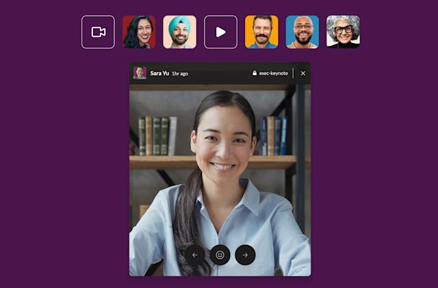 Slack is experimenting with Instagram-like Stories