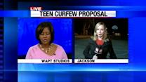 Proposed curfew becomes hot topic in Jackson