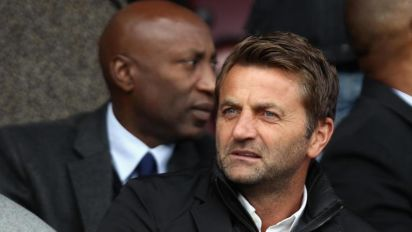 Swindon director of football Tim Sherwood served two-game stadium ban for calling referee a 'f****** mug'