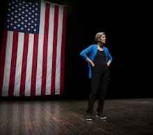Elizabeth Warren Takes on Democratic Rivals on Fundraising in Speech