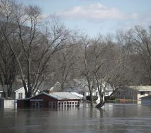 The Latest: Up to 500 homes damaged in 1 Nebraska county