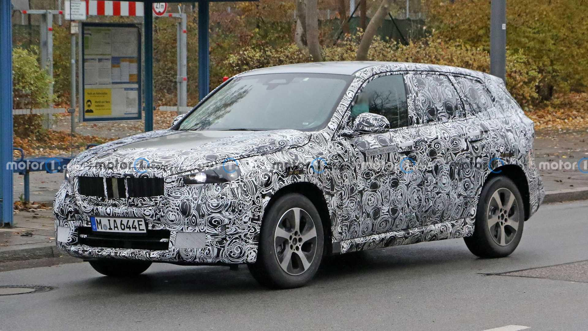 BMW iX1 electric SUV output to vary between 180 and 250 bhp