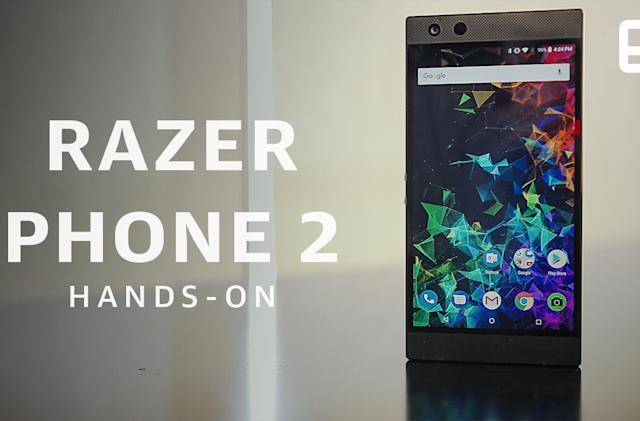 Razer Phone 2 hands-on: Closer to flagship