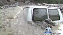 1 dead, thousands stranded in mountain storms