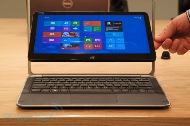 Dell XPS 12 Windows 8 convertible priced at $1,199 and up, ships this month with pre-orders starting today