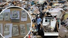 'This is a first': Garbage man finds 10 envelopes stuffed with $150,000