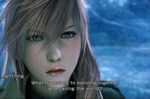 This is what Final Fantasy XIII looks like on Xbox 360