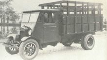 1926 Fordson Prototype Is Ford's First Heavy-Duty Truck