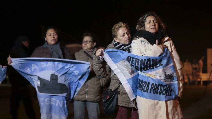 Argentina diz que submarino implodiu ao desaparecer
