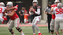 Analyzing Ohio State football's quarterback's Kyle McCord, Jack Miller and C.J. Stroud in the Spring Game