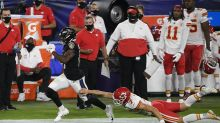 Ravens rookie Devin Duvernay sprints past Chiefs for rare kickoff-return TD