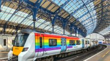 Train given rainbow makeover for Brighton Pride