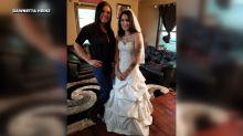 Sisterhood of the wedding dress: Bride pays it forward by lending her wedding dress to strangers