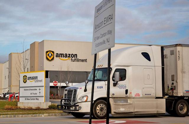 Amazon plans to streamline shipping with an app for truckers