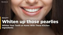 Whiten Your Teeth at Home With These Kitchen Ingredients