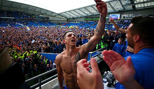 Premier League: Brighton steigt in die Premier League auf