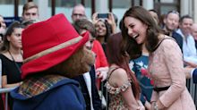 Kate Middleton powers through extreme morning sickness to dance with Paddington Bear