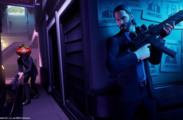 John Wick drops into 'Fortnite' for a bounty-hunting brawl