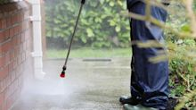 Winter jobs: clean up outside with a pressure washer