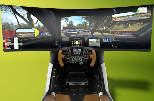 Aston Martin built a $74,000 racing simulator
