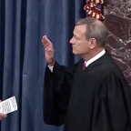 Chief Justice John Roberts, senators sworn in for impeachment trial