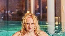 Rebel Wilson celebrates weight loss with transformed bikini snap