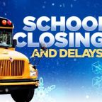 North Carolina school closings and delays as snow moves out of viewing area