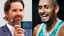'Loves hanging Aussies out to dry': Nick Kyrgios' ugly swipe at Pat Rafter