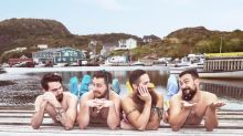 Mustached bros pose as mermaids in hilarious calendar for a good cause