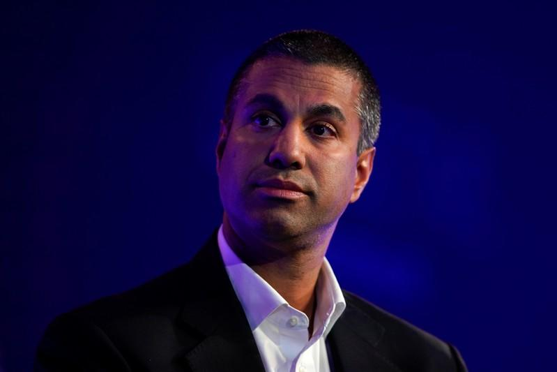 Ajit Pai, Chairman of the Federal Communications Commission, speaks at the WSJTECH Live conference in Laguna Beach, California