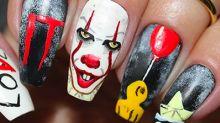 It, el personaje del nail art de Halloween
