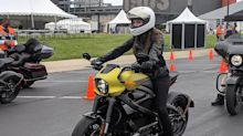 Harley-Davidson riders test out LiveWire electric motorcycles for the first time