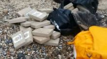 Cocaine haul worth £50 MILLION found on Norfolk coast
