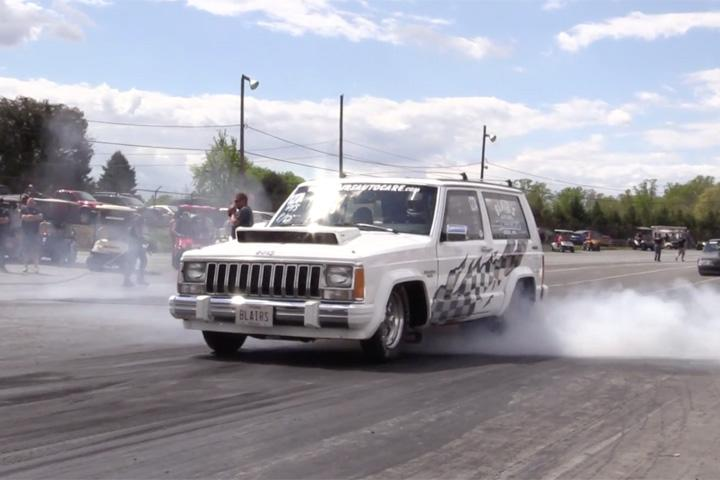 This 8-Second Jeep Might Be the World's Fastest Cherokee
