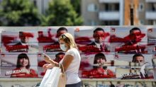 Virus-hit North Macedonia votes as EU talks loom