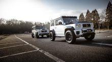 Modified Suzuki Jimny SUV vs Mercedes-Benz G-Wagon - Image Gallery