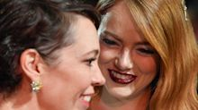Actor Interrupts Emma Stone & Olivia Coleman's Interview & They Are Not Having It